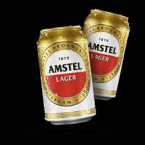 Cerveja Amstel Lata 350ml - Brasileirão Atacado