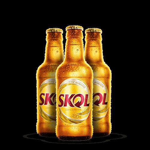 Cerveja Skol 300ml Retornável <strong>TRAZER VASILHAME</strong> - Brasileirão Atacado