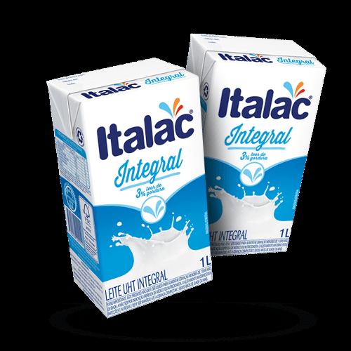 Leite Integral Italac 1 Litro - Brasileirão Atacado