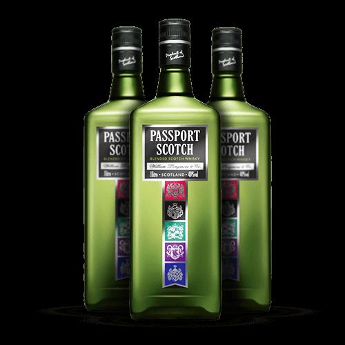 Whisky Passport Scotch 1 Litro - Brasileirão Atacado