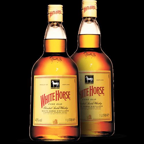 Whisky White Horse 1 Litro - Brasileirão Atacado