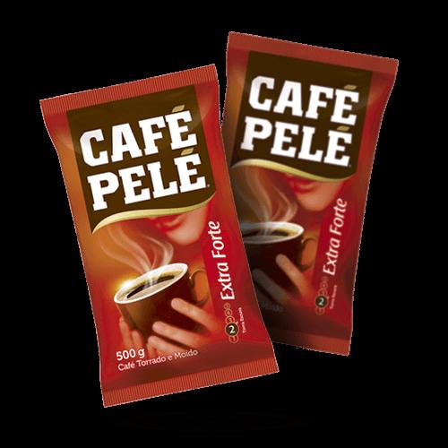 Café Pelé Extra Forte 500g - Brasileirão Atacado