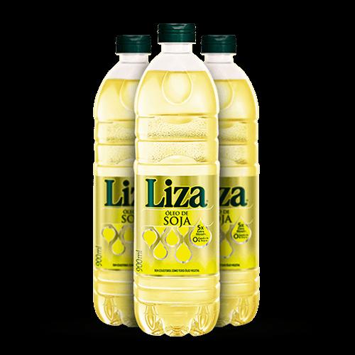 Óleo de Soja Liza 900ml - Brasileirão Atacado