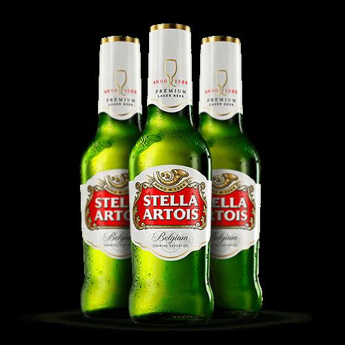 Cerveja Stella Artois Long Neck 275ml - Brasileirão Atacado