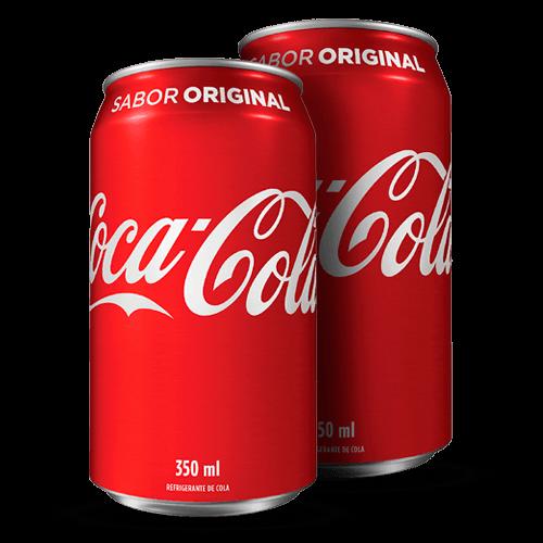 Refrigerante Coca Cola Lata 350ml - Brasileirão Atacado