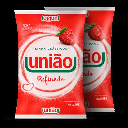 Açúcar Refinado União 1kg - Brasileirão Atacado