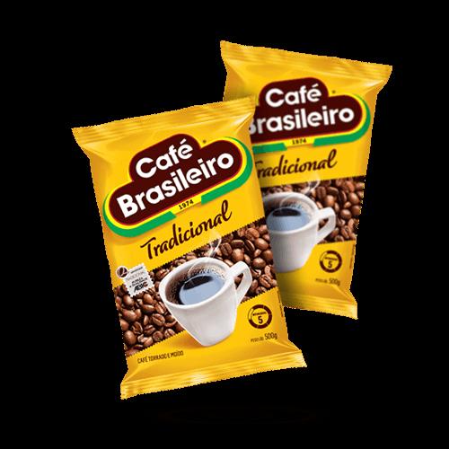 Café Brasileiro 500g - Brasileirão Atacado
