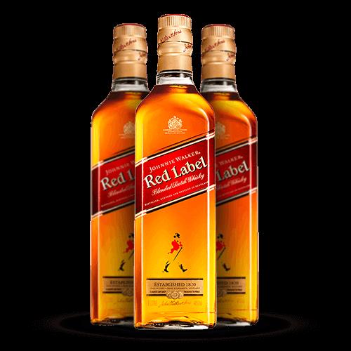 Whisky Johnnie Walker Red Label 1 Litro - Brasileirão Atacado