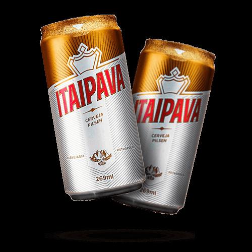Cerveja Itaipava Lata 269ml - Brasileirão Atacado
