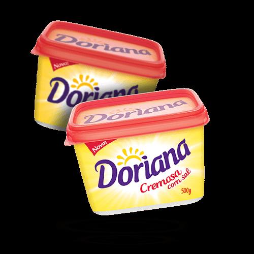 Margarina Doriana 500g - Brasileirão Atacado