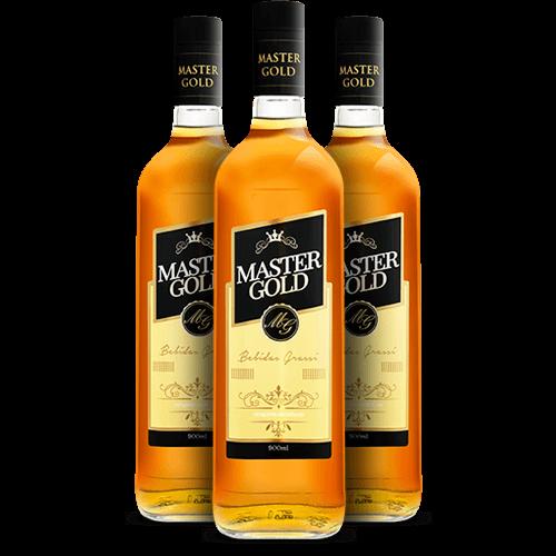 Whisky Master Gold 900ml - Brasileirão Atacado