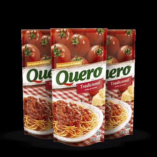 Molho de Tomate Quero Trad. 340g - Brasileirão Atacado
