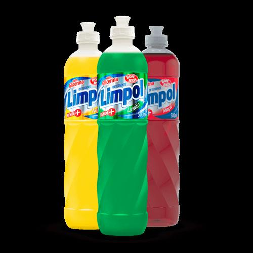 Detergente Líquido Limpol 500ml - Brasileirão Atacado