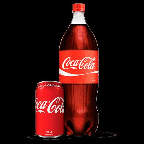 Refrigerante Coca Cola 2 Litros ou 350ML - Brasileirão Atacado