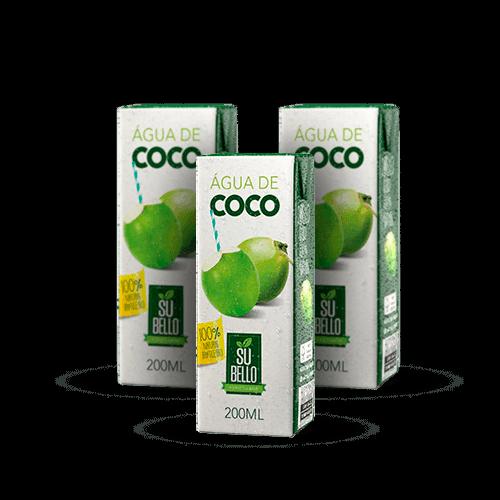 Água de Coco Sú Bello 200ml - Brasileirão Atacado
