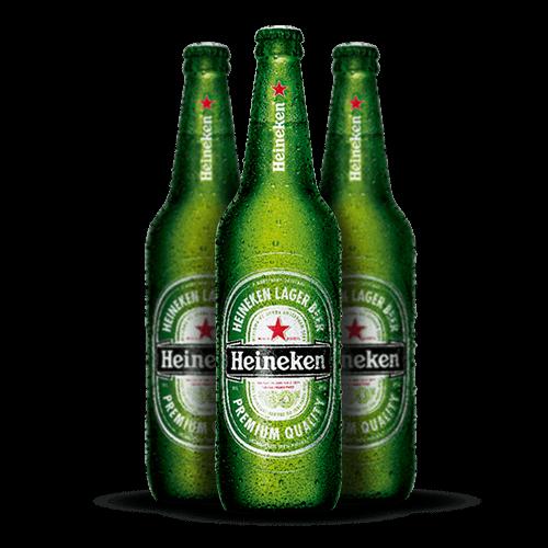 Cerveja Heineken 600ml <strong>Grátis Vasilhame</strong> - Brasileirão Atacado