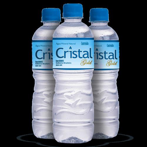 Água Mineral Cristal Gold 510ml - Brasileirão Atacado