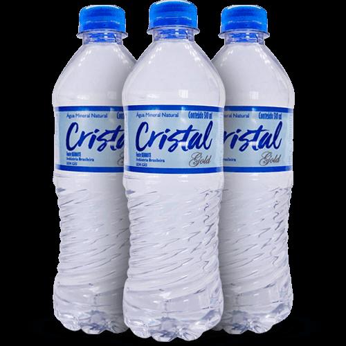 Água Mineral Cristal Gold 500ml - Brasileirão Atacado