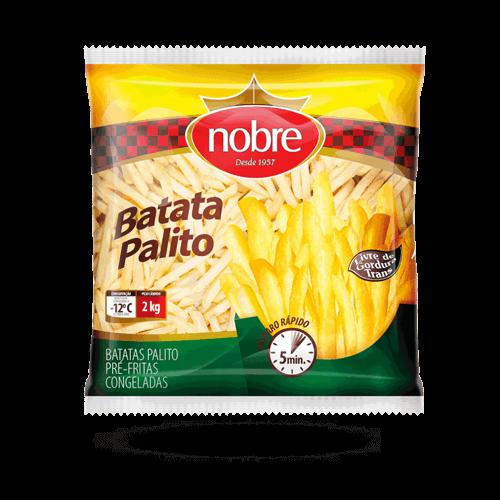 Batata Nobre  Congelada Pacote 2kg - Brasileirão Atacado