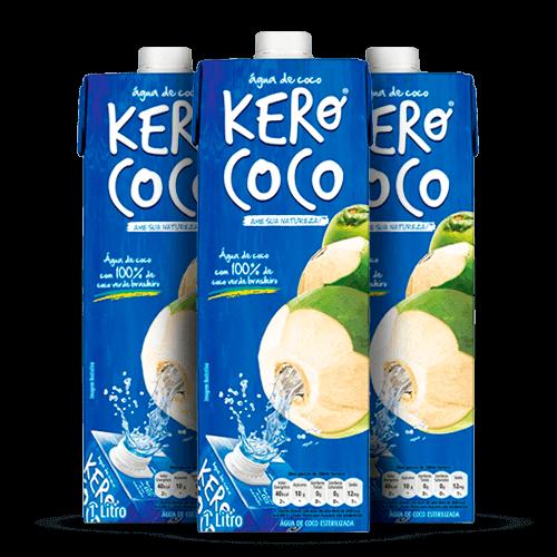 Água de Coco Kero Coco 1 Litro - Brasileirão Atacado