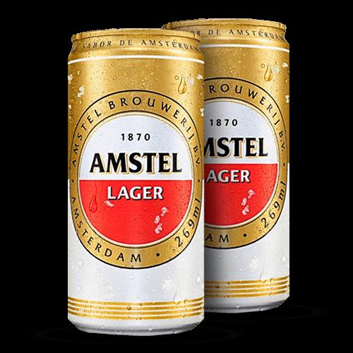 Cerveja Amstel Lata 269ml - Brasileirão Atacado