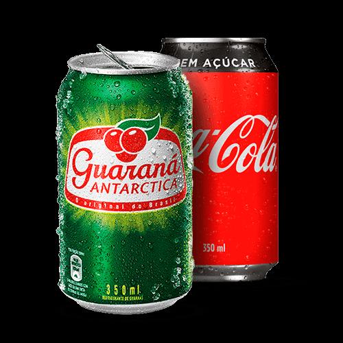 Refrigerante Coca-Cola Zero Guaraná Lata 350ml - Brasileirão Atacado