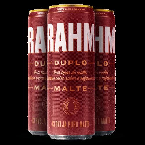 Cerveja Brahma Duplo Malte 350ml - Brasileirão Atacado