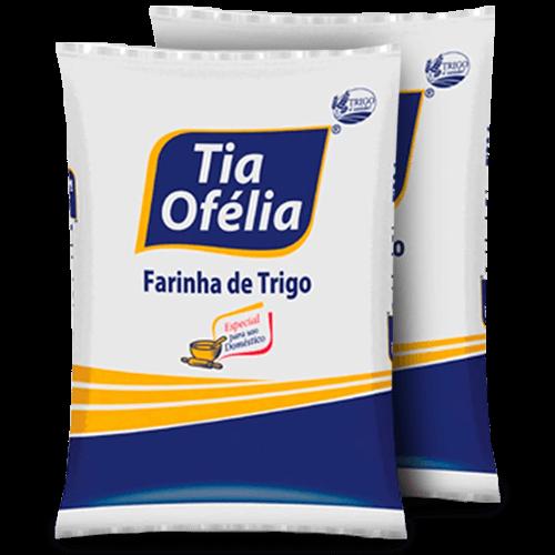 Farinha de Trigo Tia Ofélia 5kg - Brasileirão Atacado