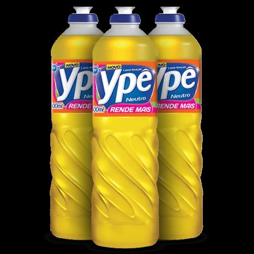 Detergente Ypê Neutro 500ml - Brasileirão Atacado